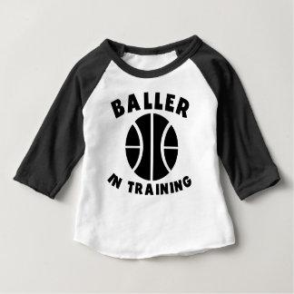 訓練のBaller ベビーTシャツ