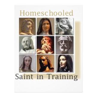 訓練のHomeschoolの聖者 レターヘッド