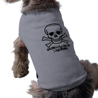 訓練のskull_and_crossboneのPunker犬 ペット服