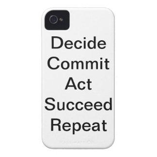 """""""託します行為を成功します繰り返し""""のIphone 4ケース決定して下さい Case-Mate iPhone 4 ケース"""