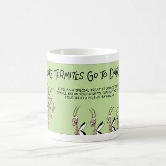 託児所のシロアリ コーヒーマグカップ