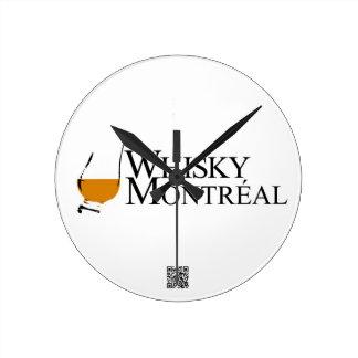 記事のダイバーのウィスキーモントリオール ラウンド壁時計