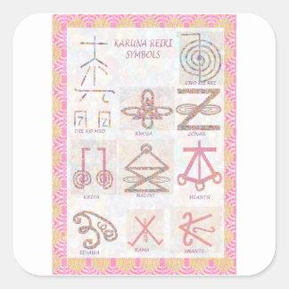 記号による芸術: 霊気は練習用具を習得します スクエアシール