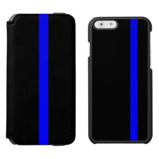 記号による薄いブルーライン縦のスタイル INCIPIO WATSON™ iPhone 6 ウォレットケース