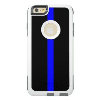 記号による薄いブルーライン オッターボックスiPhone 6/6S PLUSケース