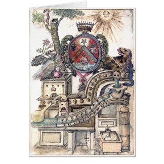 記号による錬金術の研修会 カード