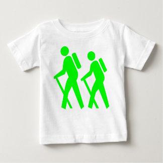 記号のハイキング ベビーTシャツ