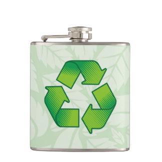 記号のリサイクル フラスク