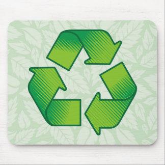 記号のリサイクル マウスパッド