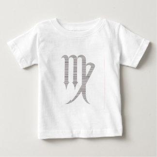記号の《星座》乙女座(白い) ベビーTシャツ
