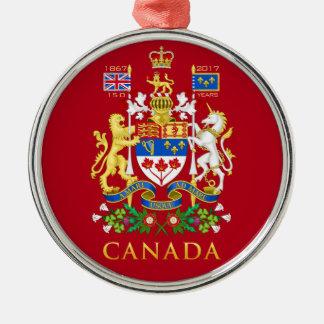 記念するカナダの150th誕生祝い メタルオーナメント
