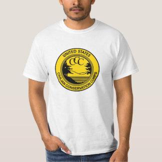 記念する一般市民の保存隊CCC Tシャツ