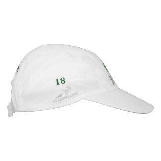 記念する18の一年生植物パトリシアSnyderのゴルフ帽子! ヘッドスウェットハット