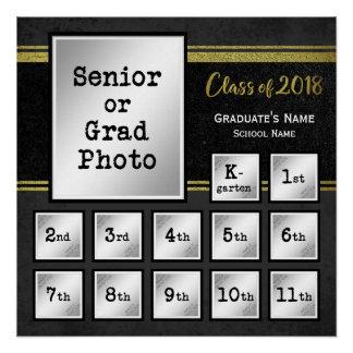 記念する2018 K-12のクラス ポスター