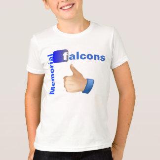 記念の《鳥》ハヤブサのように Tシャツ