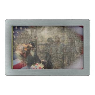 記念ベトナムの退役軍人 長方形ベルトバックル