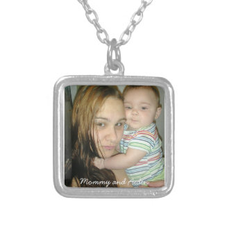記念品のネックレス シルバープレートネックレス