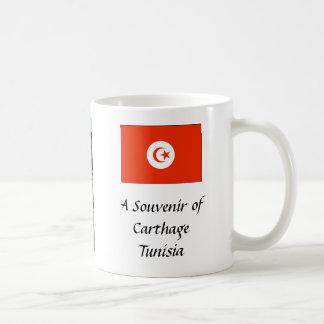 記念品のマグ-カーセッジ、チュニジア コーヒーマグカップ