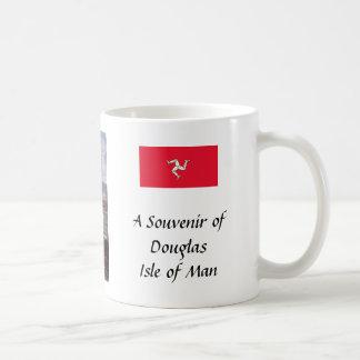 記念品のマグ-ダグラスの人の島 コーヒーマグカップ