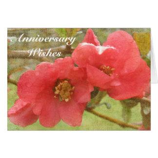 記念日の願い カード