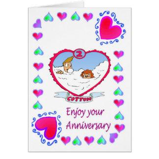 記念日カード-第2綿 カード