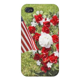記念物/復員軍人の日の捧げ物 iPhone 4/4Sケース