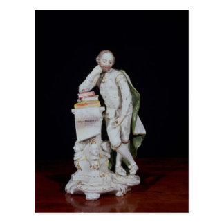 記念碑に基づいてウィリアム・シェイクスピア、 ポストカード