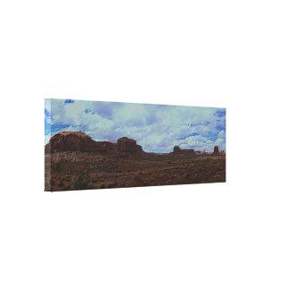 記念碑の谷のパノラマ キャンバスプリント