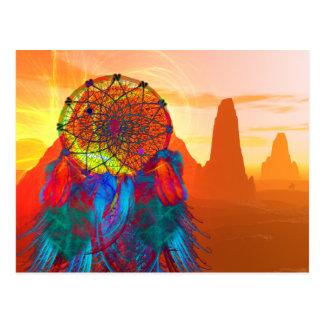 記念碑の谷の夢のキャッチャー ポストカード