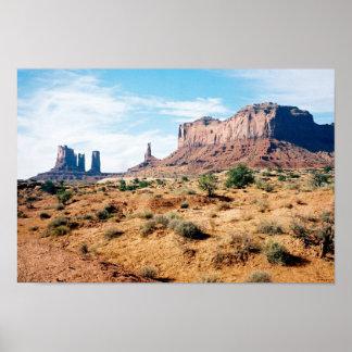 記念碑の谷、アリゾナ11 ポスター