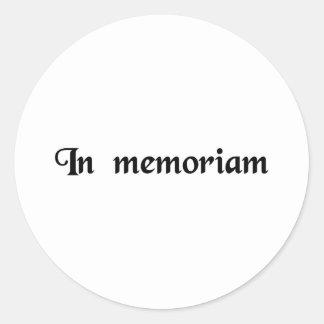 記憶にの… ラウンドシール