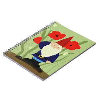 記憶の格言のノートの庭 ノートブック