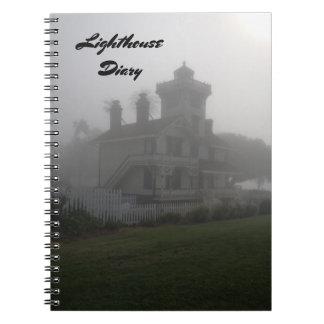 記憶ジャーナル本旅行灯台日記のノート ノートブック
