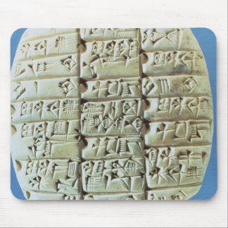 記述は楔形の原稿、c.2400と紀元前に台に置きます(t マウスパッド