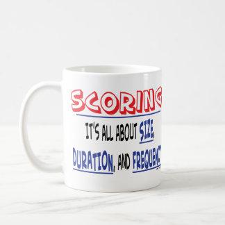 記録します-サイズ、持続期間および頻度コーヒー・マグ コーヒーマグカップ