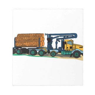 記録のトラック ノートパッド
