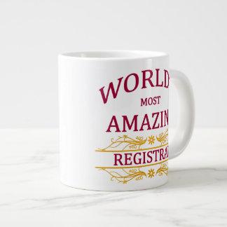 記録係 ジャンボコーヒーマグカップ