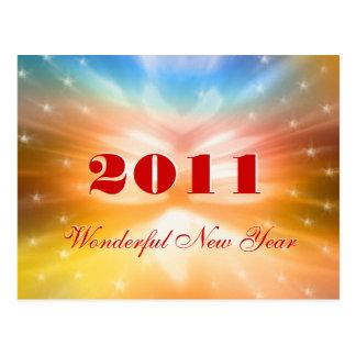 (記録保管)すばらしい新年2011年-郵便はがき ポストカード
