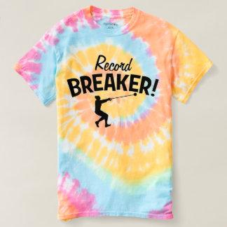記録破りの人! ハンマー投げのTシャツ Tシャツ
