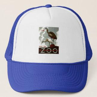 訪問して下さい動物園- WPAポスター-を キャップ