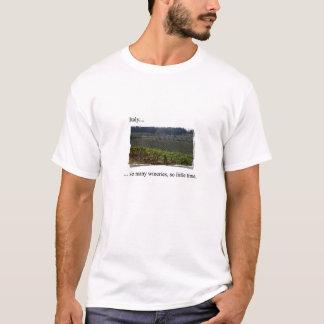 訪問のイタリアのTシャツ Tシャツ