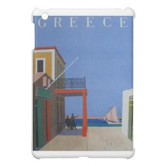 訪問のギリシャのヴィンテージポスター iPad MINIカバー