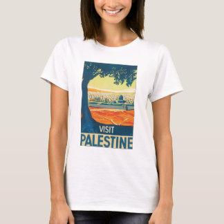訪問のパレスチナのヴィンテージ旅行ポスター Tシャツ