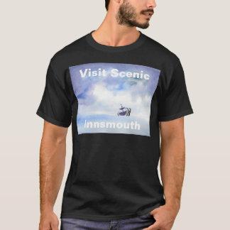 訪問の景色のInnsmouthのワイシャツ Tシャツ