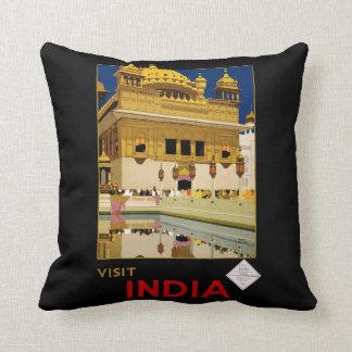 訪問インド クッション