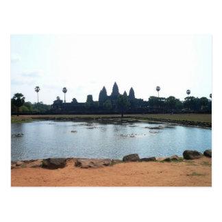 訪問カンボジア ポストカード