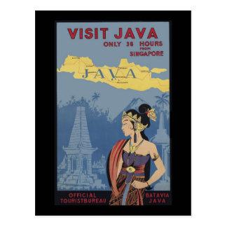 訪問ジャワシンガポールからの36時間だけ ポストカード