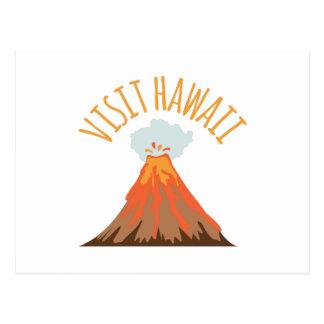 訪問ハワイ ポストカード