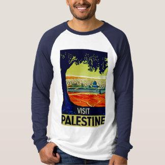 訪問パレスチナ Tシャツ