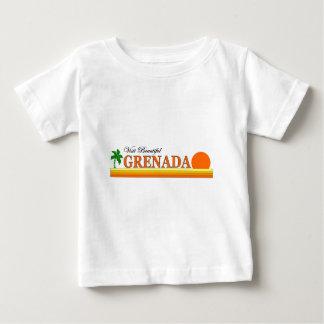 訪問美しいグレナダ ベビーTシャツ